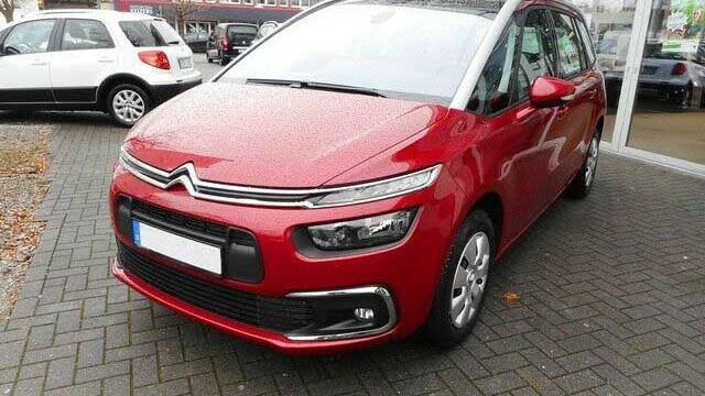 Citroën c4 spacetourer GRAND Live BlueHDi 130 S et