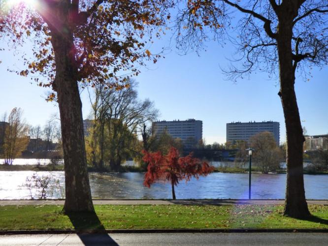 Appartement haussmannien 2 pièces 30m2 Orléans vue sur Loire