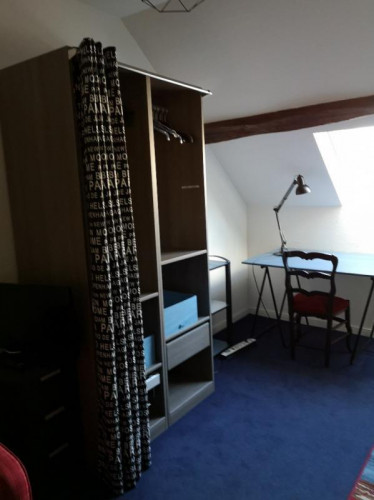 Chambre chez l'habitant dans une maison de 11m2 dans le coeur de Angers
