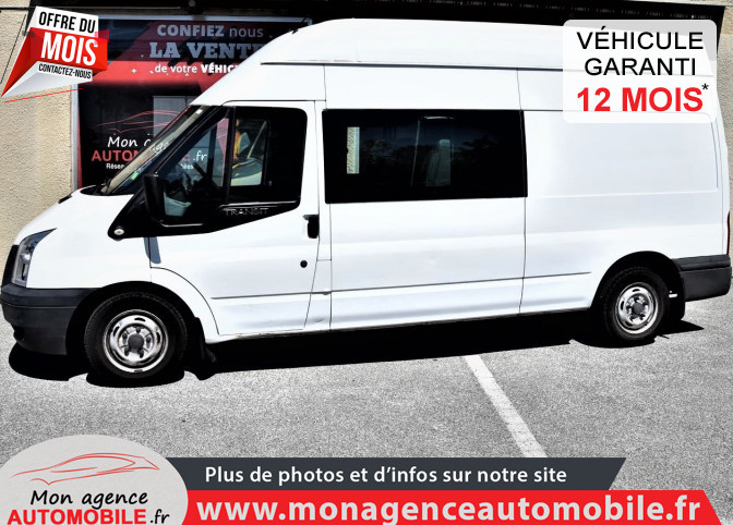 Ford TRANSIT TREND L3H3 CABINE APPROFONDIE 7 PLACES 2.2 1