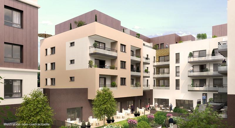 SPECIAL INVESTISSEURS - Studio 32,7 m² - Résidence Séniors Rouen (76)