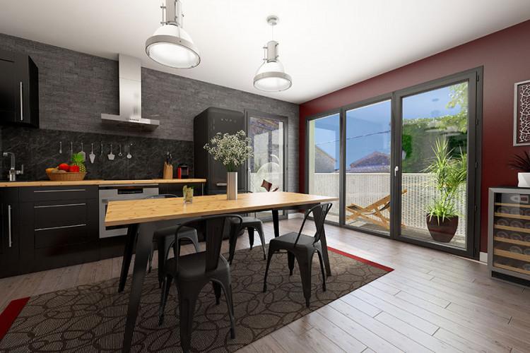 T2 42 m² avec balcon au centre de Rennes (35)