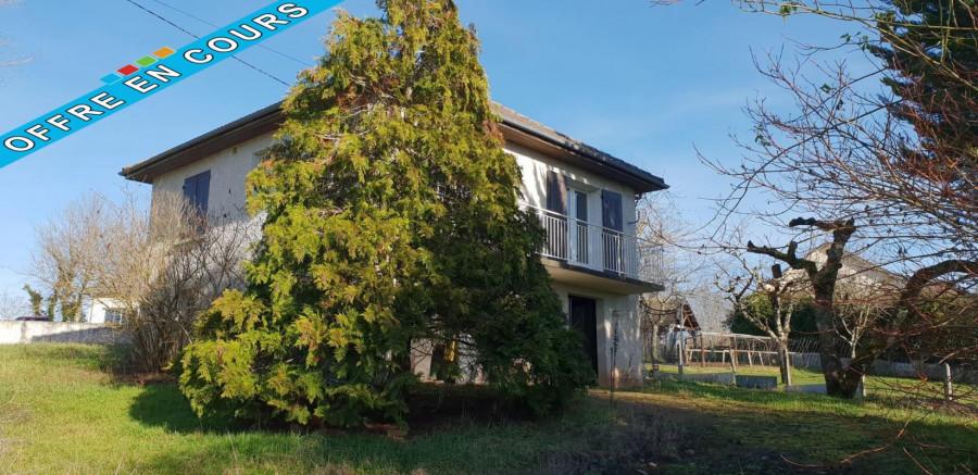 Maison 82 m² T4 + garage + 952 m² terrain - 19130 Vars sur