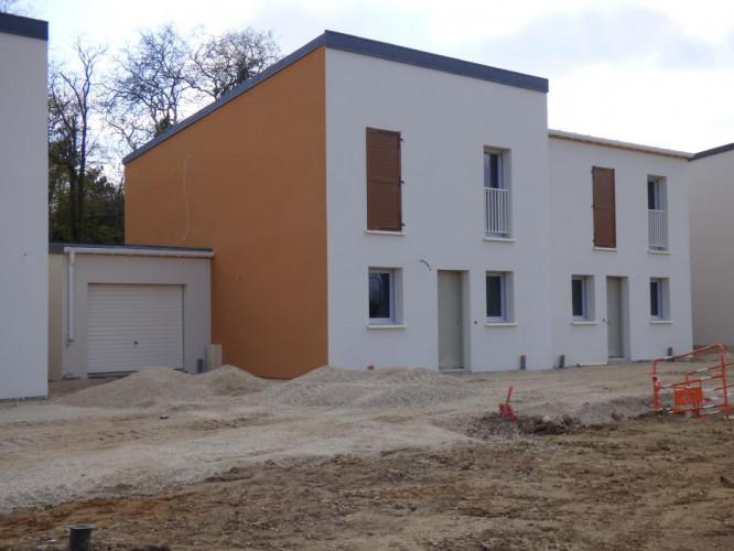 Maison jumelée de 114m2 à Saint Jean de Braye