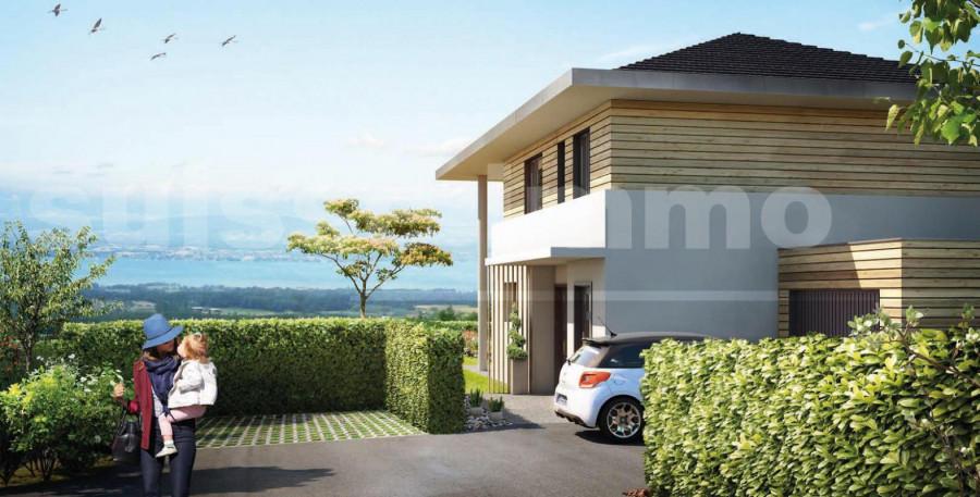 Cadre d'exception vue LAC LEMAN Villa T4