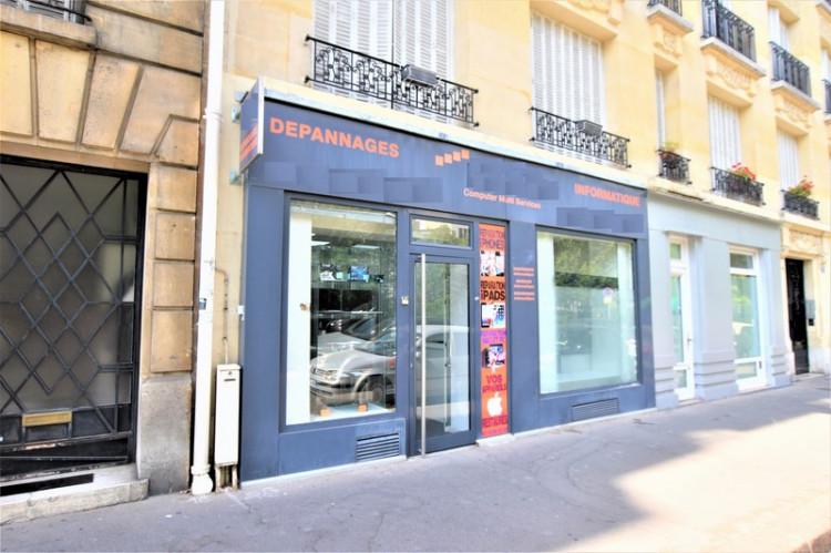 boutique lumineuse, Porte de Champerret