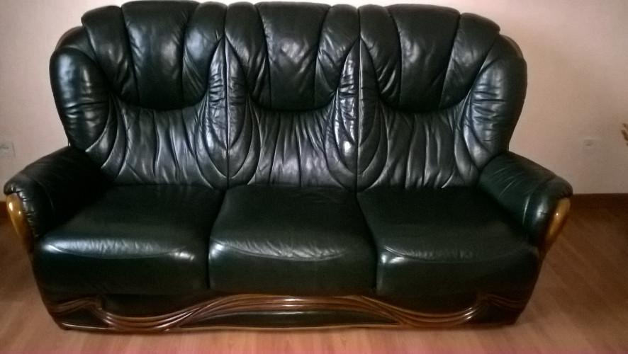salon canapé + fauteuils