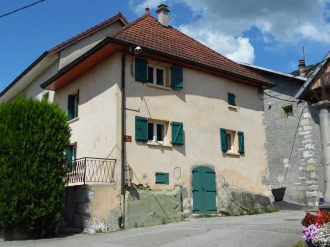 Proche Aix-les-Bains (73100), à vendre maison de ville en pierre