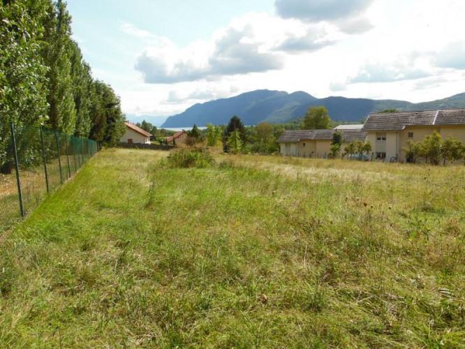 Chindrieux (73310) à vendre terrain constructible de 3263m2 vue sur le Lac du Bourget