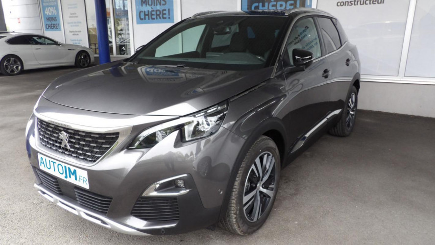 Peugeot 3008 SUV GT LINE BLUE HDI 130 EAT8 S/S
