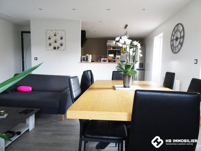 Maison Ambierle 3 pièce(s) 59.46 m2 - 2 chambres- Terrain