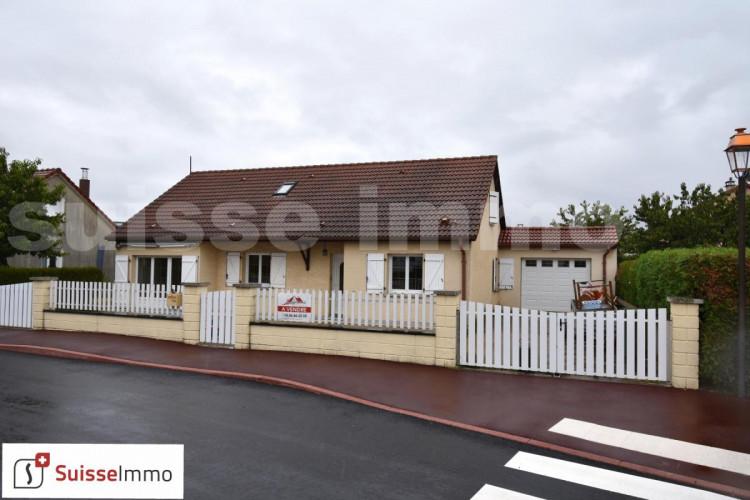 Pavillon plain pieds / 3ch / Terrain 400 m²