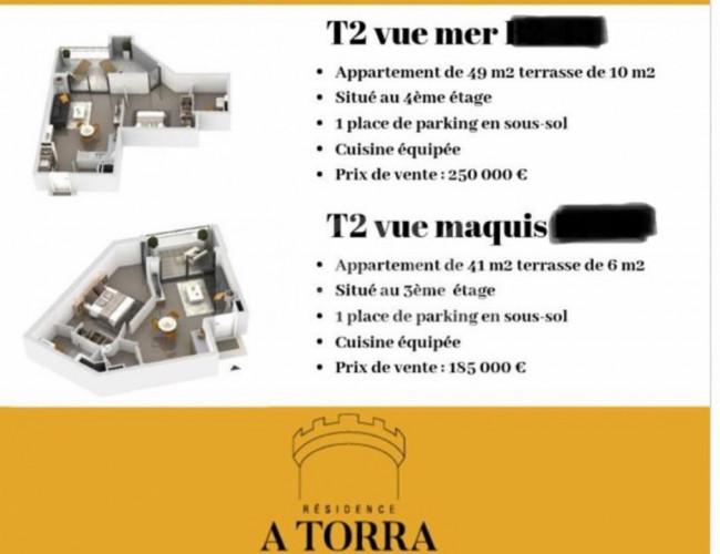 A TORRA.  OPPORTUNITE T2 VUE MAQUIS