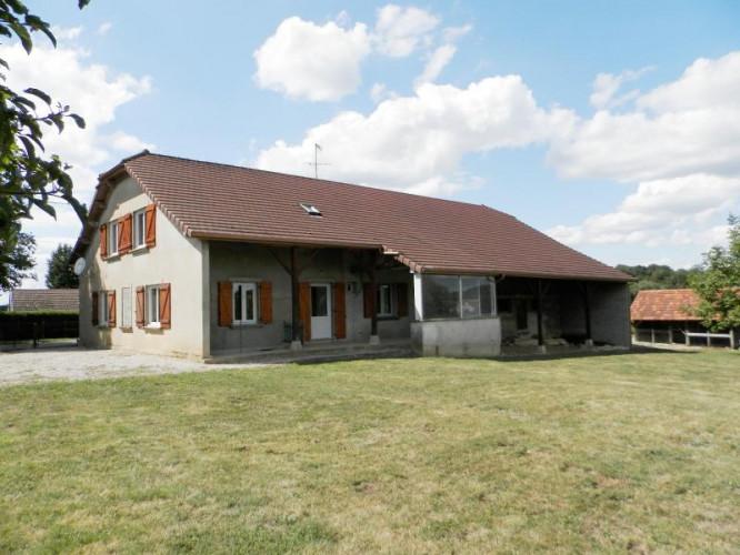Vente SAINT GERMAIN DU BOIS (71), maison familiale 140 m², terrain 2510 m²