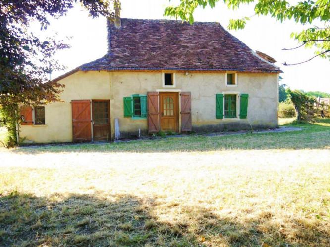 Maison en pierres T4 sur 1200 m² de terrain 46350