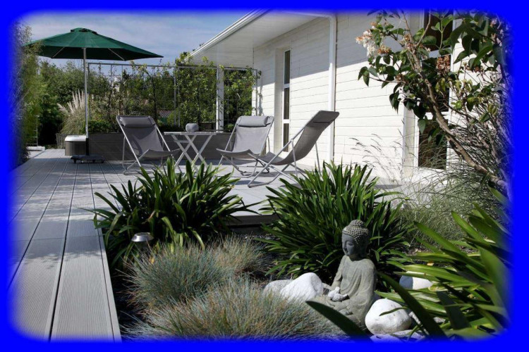 56760 PENESTIN- Villa contemporaine avec patio -studio