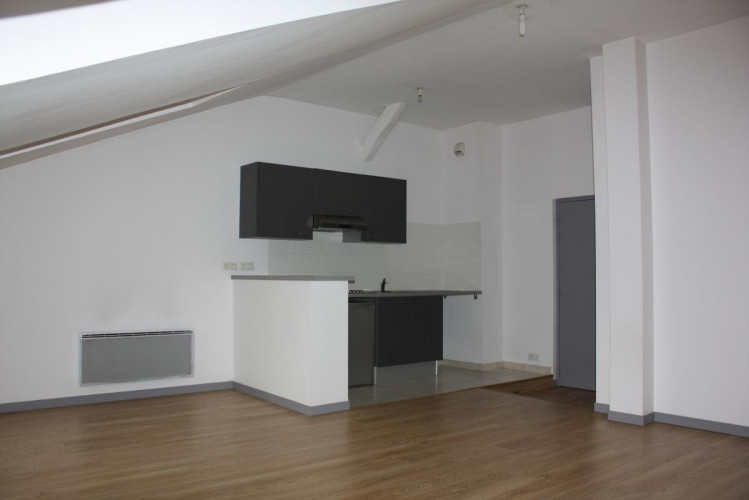 Appartement T2, environ 48 m², cave,  Tulle 19000