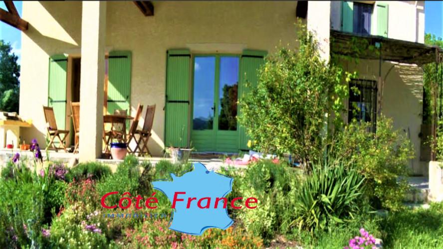 ALPES HAUTE PROVENCE DIGNE LES BIANS Villa SH 230m² Piscine Garages Jardin 1400m²