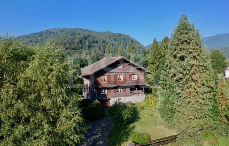 Vallée de Thann chalet Suisse 170m2  dans un parc de 27 ares