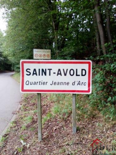 SAINT AVOLD   QUARTIER JEANNE D'ARC TERRAIN CONSTRUCTIBLE 72