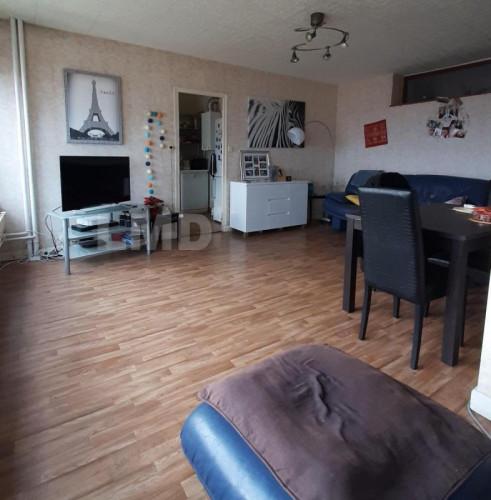 Nancy appartement de  5 pièces, traversant, dans résidence sécurisée