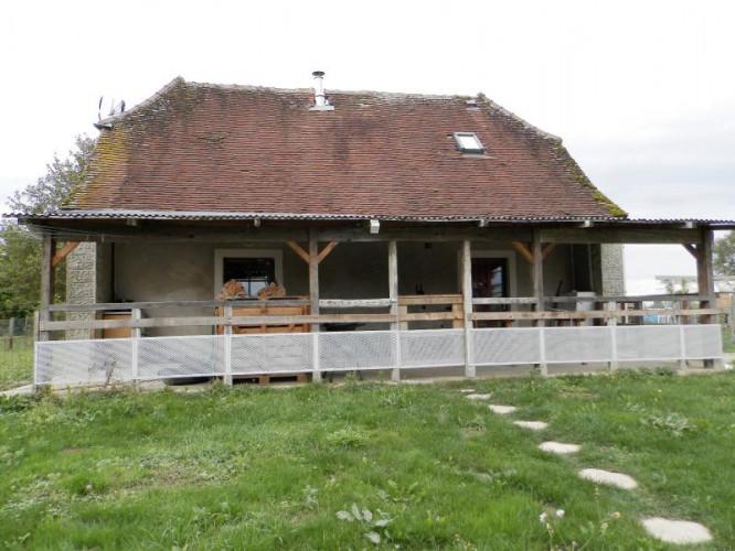 A VENDRE proche BELLEVESVRE (71270), maison 85 m², dépendances, terrain 1458 m²