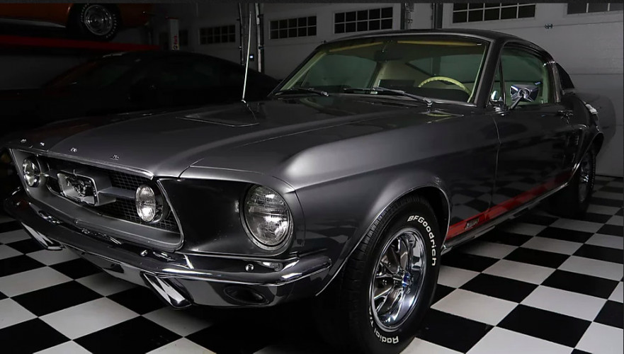 Ford Mustang 289 CODE A;1967