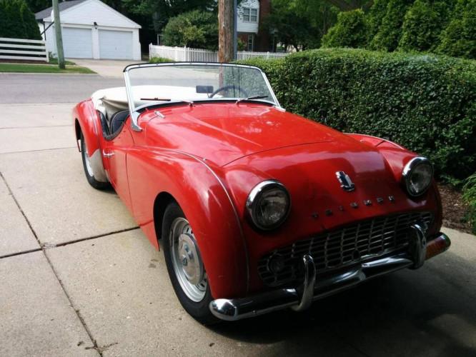 Triumph TR3 A;1960