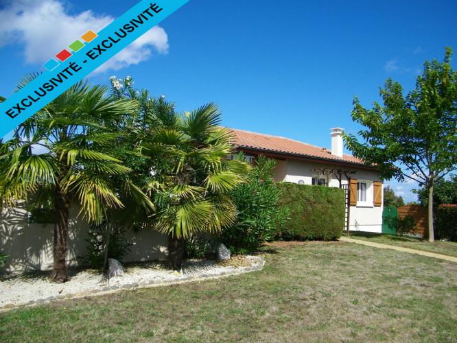 Maison de 82 m² sur sous-sol à Laurède 40250