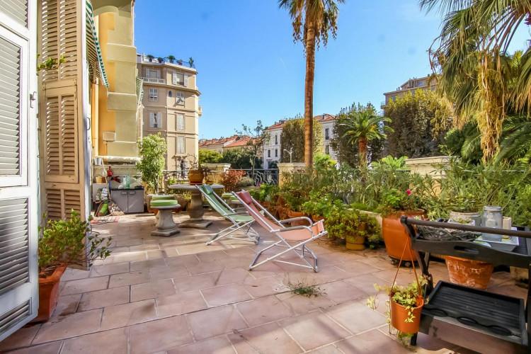 Nice Carré d'Or - Appartement sans vis-à-vis avec terrasse