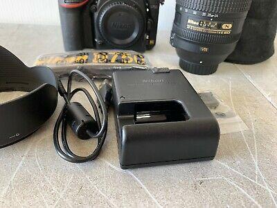 Appareil photo reflex numérique Nikon D750 24,3 MP - Noir (avec objectif AF-S 24-120 mm)