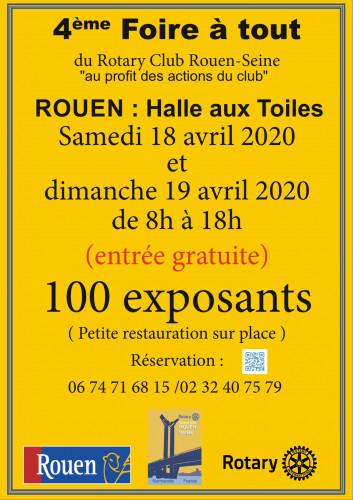 4ème Foire à tout du Rotary Club Rouen Seine